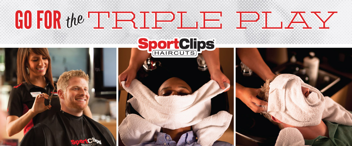 The Sport Clips Haircuts of South Shore Blvd Triple Play